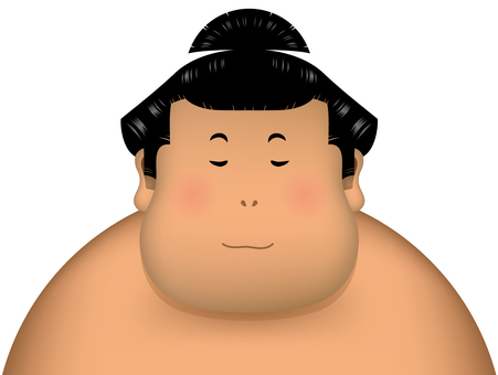 Sumo wrestling relief