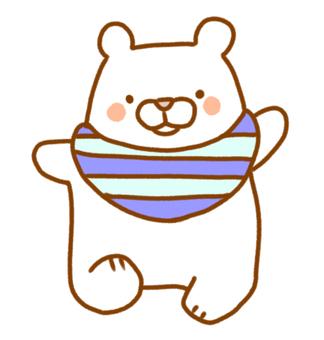 Baby White Bear
