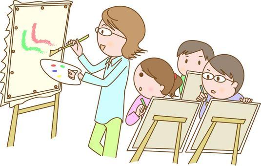 美術の教師