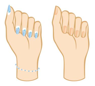 Body parts (nail 1)