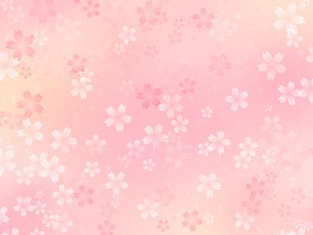 Cherry-like Japanese paper texture -3