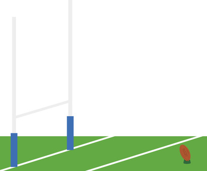 Illustration of a rugby field