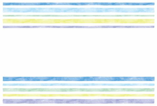 Summer image / stripe