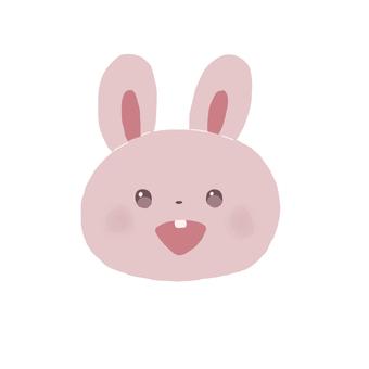 토끼 웃는