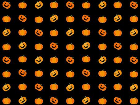 Pumpkin wallpaper (black)