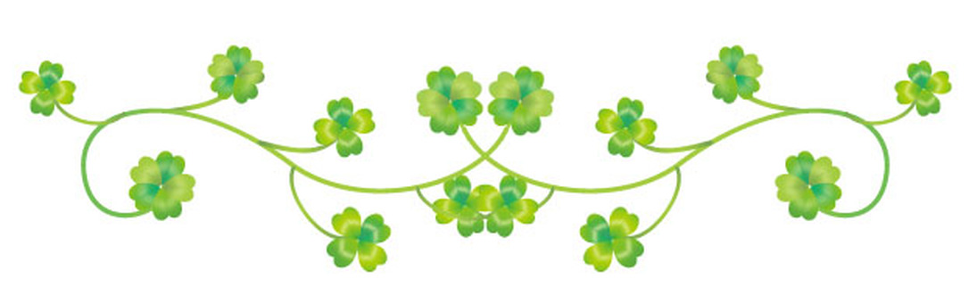 Clover decoration