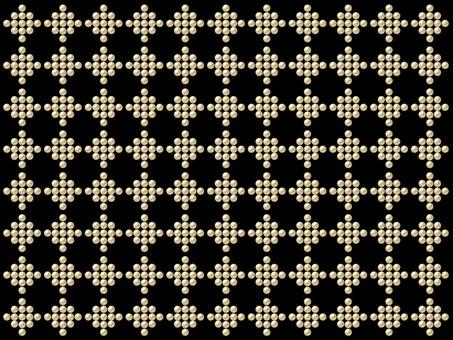 Rivet pattern - gold