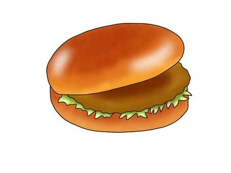 Cutlet burger
