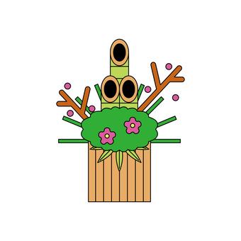 Kadoma (flat icon)