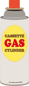 Cassette cylinder