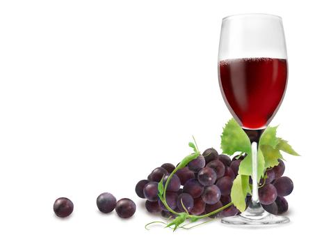 Wine grape frame