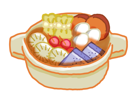 Oden in the pot