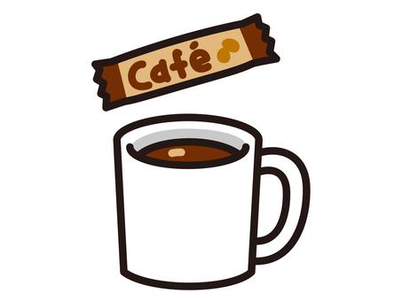 Stick coffee