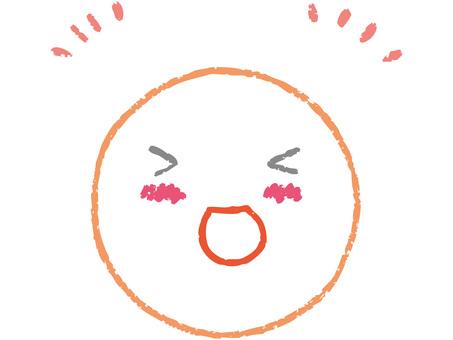 Round face (happy) 1