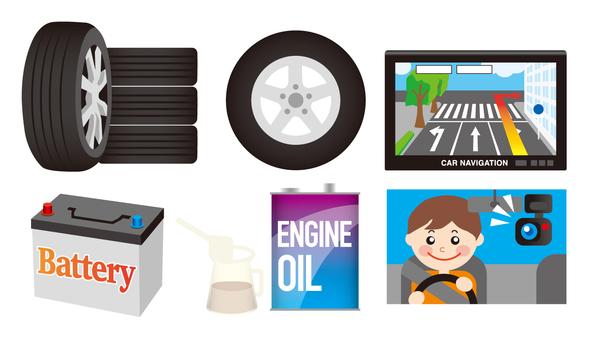 Auto car material