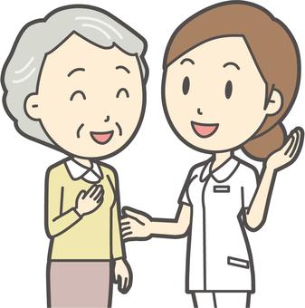 看護師と会話-017-バスト