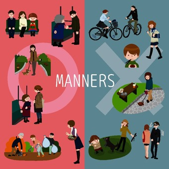 Public manner