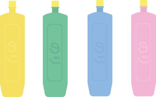 Tube glue various colors