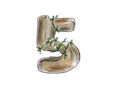 번호 (우드 5)