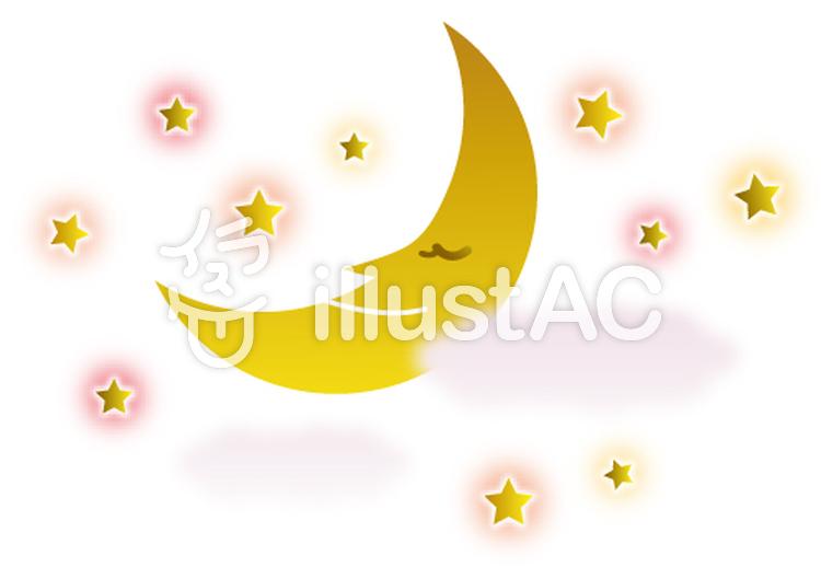 Free Cliparts Month Crescent Moon Star 141553 Illustac