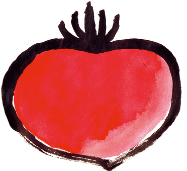 Tomato (watercolor picture)