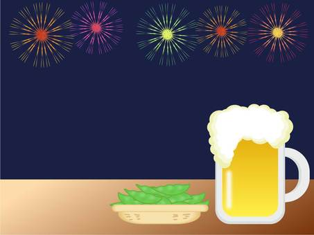 Fireworks and draft beer