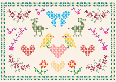 Cross Stitch Kaichi Pattern