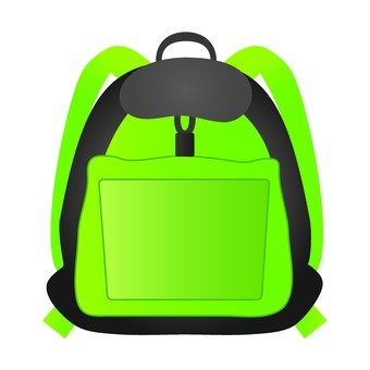 Backpack (green)