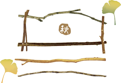 Frame of twig