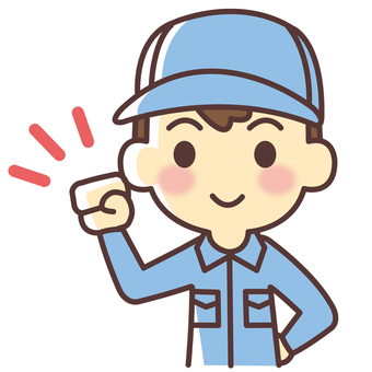 Energetic worker (062)