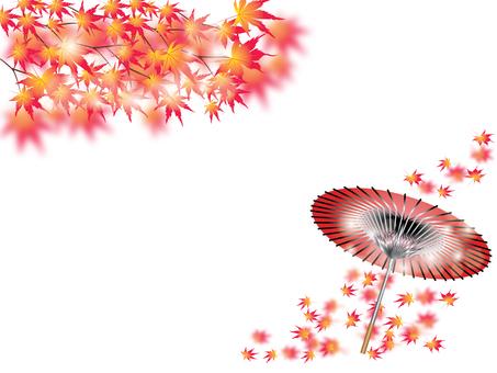 단풍 나무 _ 우산 M 카드
