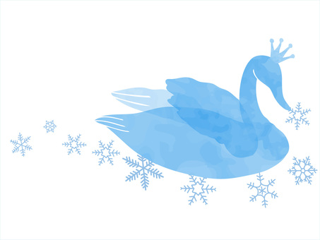 Swans and snowflakes