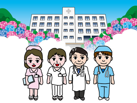Hydrangea (49) Hospital and medical staff