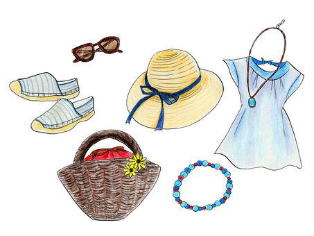 Summer accessories (ladies)