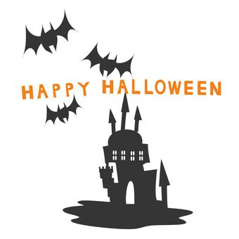 Halloween Material Castle