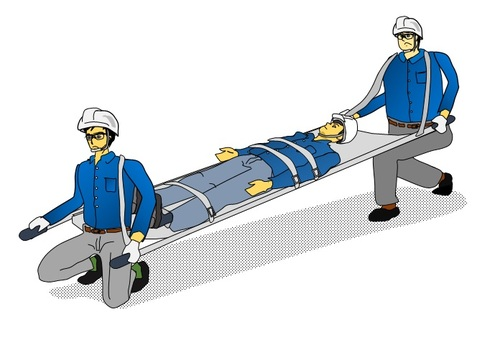 Carry out on stretcher