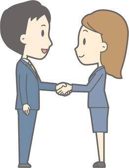 Handshake -05 - whole body
