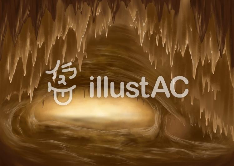 洞窟背景イラスト No 1326629無料イラストならイラストac