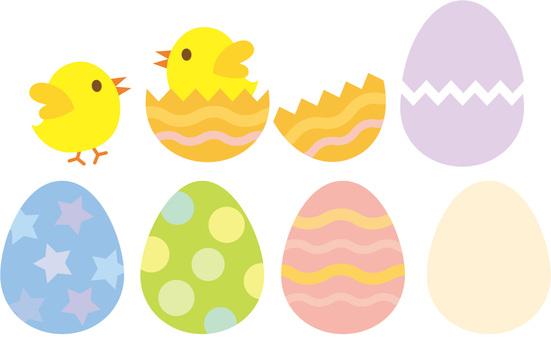 부활절 달걀 (병아리 계란)