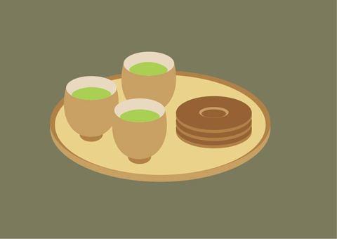 차와 추석과 茶托
