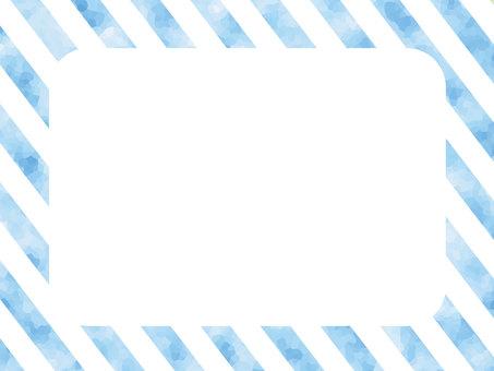 Blue border frame