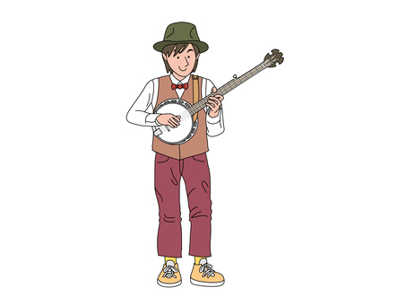 밴조 연주자