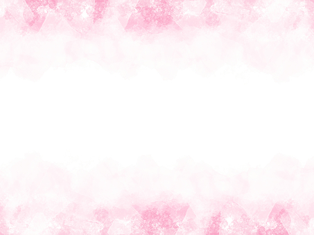 Watercolor frame pink