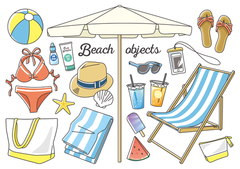 Beach objects