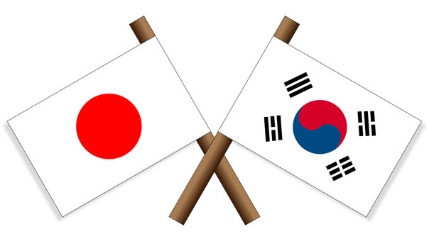 Flag Japan × South Korea