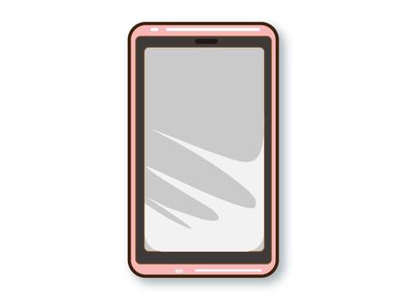 智能手機機身(粉紅色)