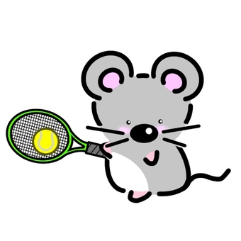 Mouse tennis