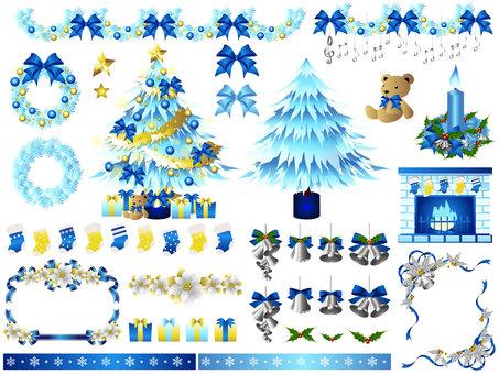 크리스마스 세트 (블루)