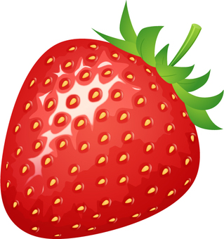 리얼한 딸기 _1 개
