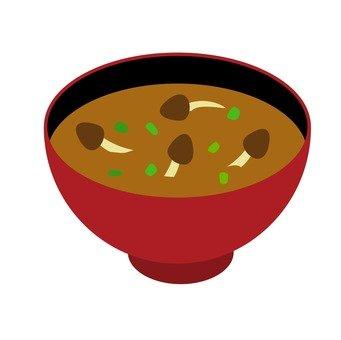 Nanpo miso soup